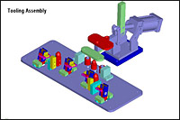 Tooling Assembly ISO View